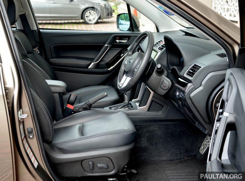 试驾:Subaru Forester 2.0i-P,超高性价比的中型SUV。 Image #15183