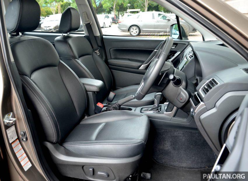 试驾:Subaru Forester 2.0i-P,超高性价比的中型SUV。 Image #15184