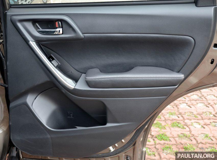 试驾:Subaru Forester 2.0i-P,超高性价比的中型SUV。 Image #15185