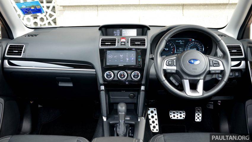 试驾:Subaru Forester 2.0i-P,超高性价比的中型SUV。 Image #15189