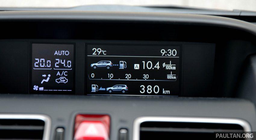 试驾:Subaru Forester 2.0i-P,超高性价比的中型SUV。 Image #15190