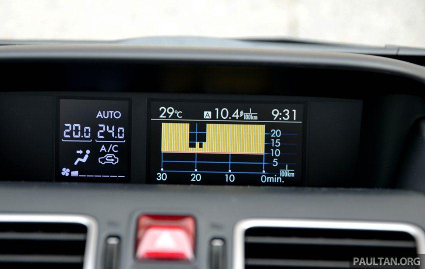 试驾:Subaru Forester 2.0i-P,超高性价比的中型SUV。 Image #15192