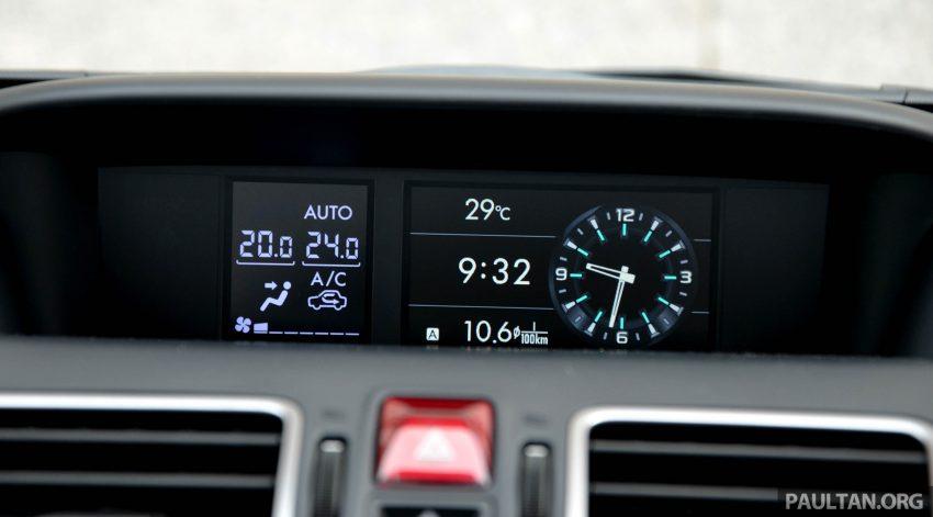 试驾:Subaru Forester 2.0i-P,超高性价比的中型SUV。 Image #15196