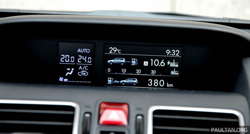 试驾:Subaru Forester 2.0i-P,超高性价比的中型SUV。 Image #15197