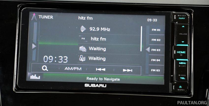 试驾:Subaru Forester 2.0i-P,超高性价比的中型SUV。 Image #15200