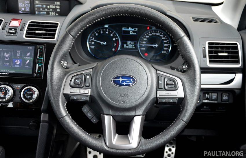 试驾:Subaru Forester 2.0i-P,超高性价比的中型SUV。 Image #15208