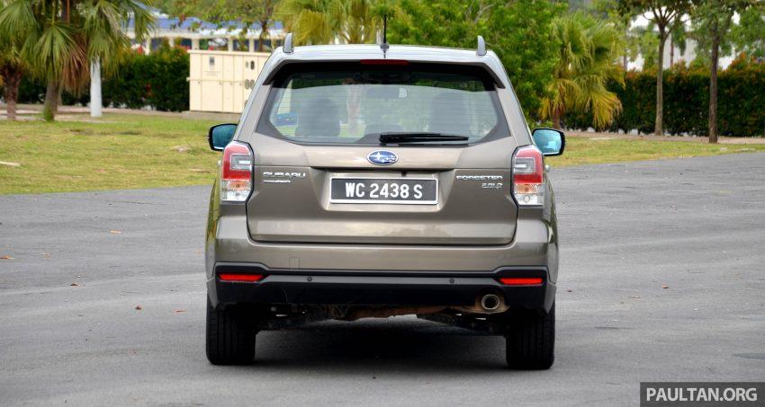 试驾:Subaru Forester 2.0i-P,超高性价比的中型SUV。 Image #15149