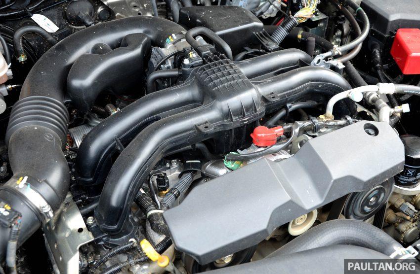 试驾:Subaru Forester 2.0i-P,超高性价比的中型SUV。 Image #15232