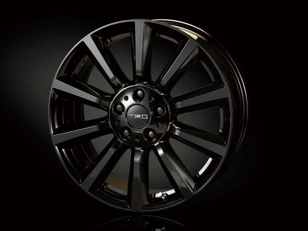 日本推出 Toyota C-HR 专属 TRD / Modellista改装套件。 parts_tf6-black ...