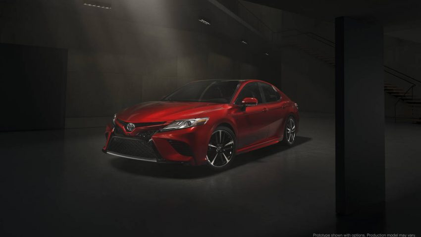 全面进化!北美国际车展发布 2018 年式 Toyota Camry。 2018_toyota_camry_xse ...