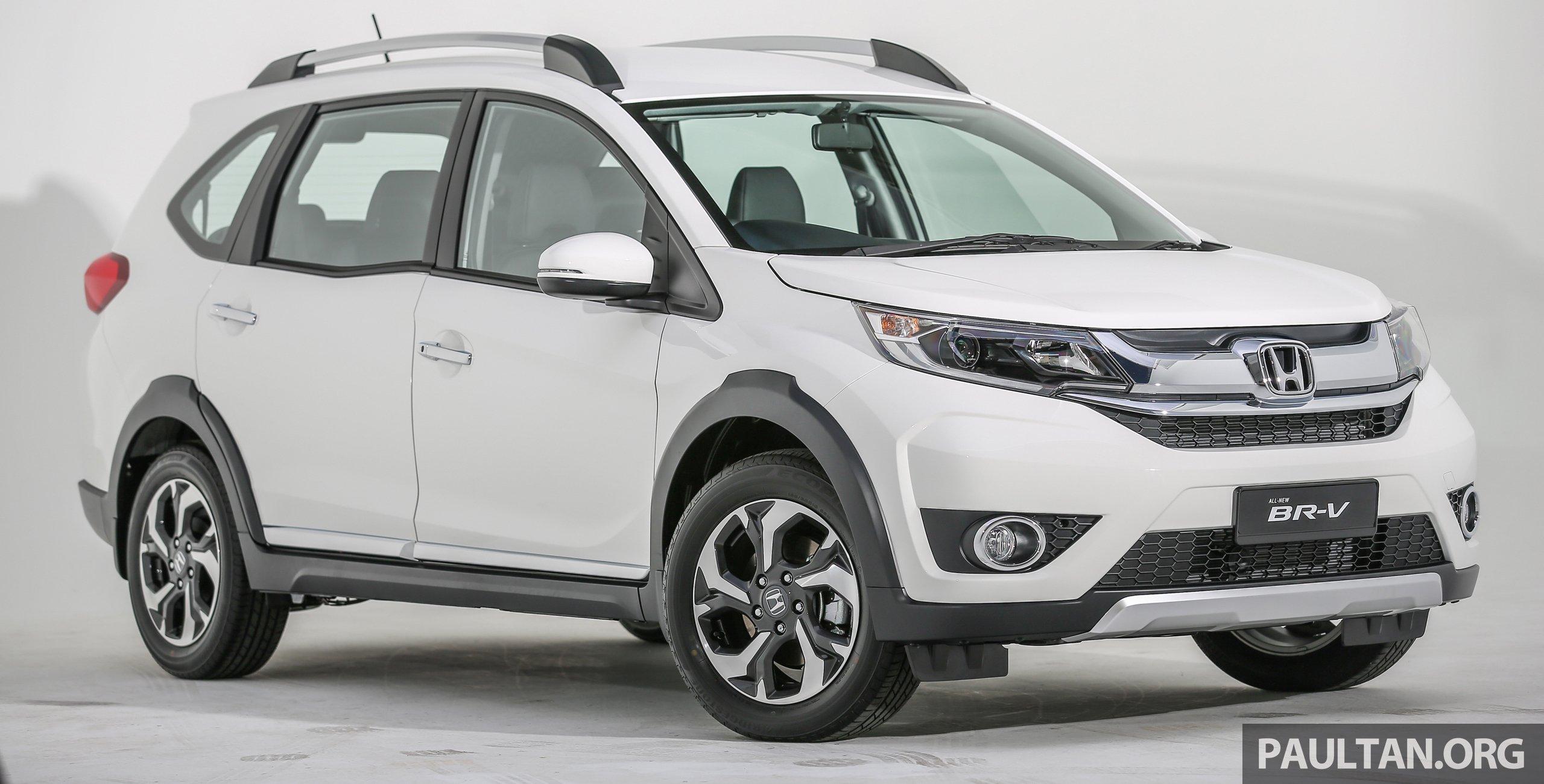 新车图集: Honda BR-V 1.5V,集SUV和MPV特点于一身。 Honda ...