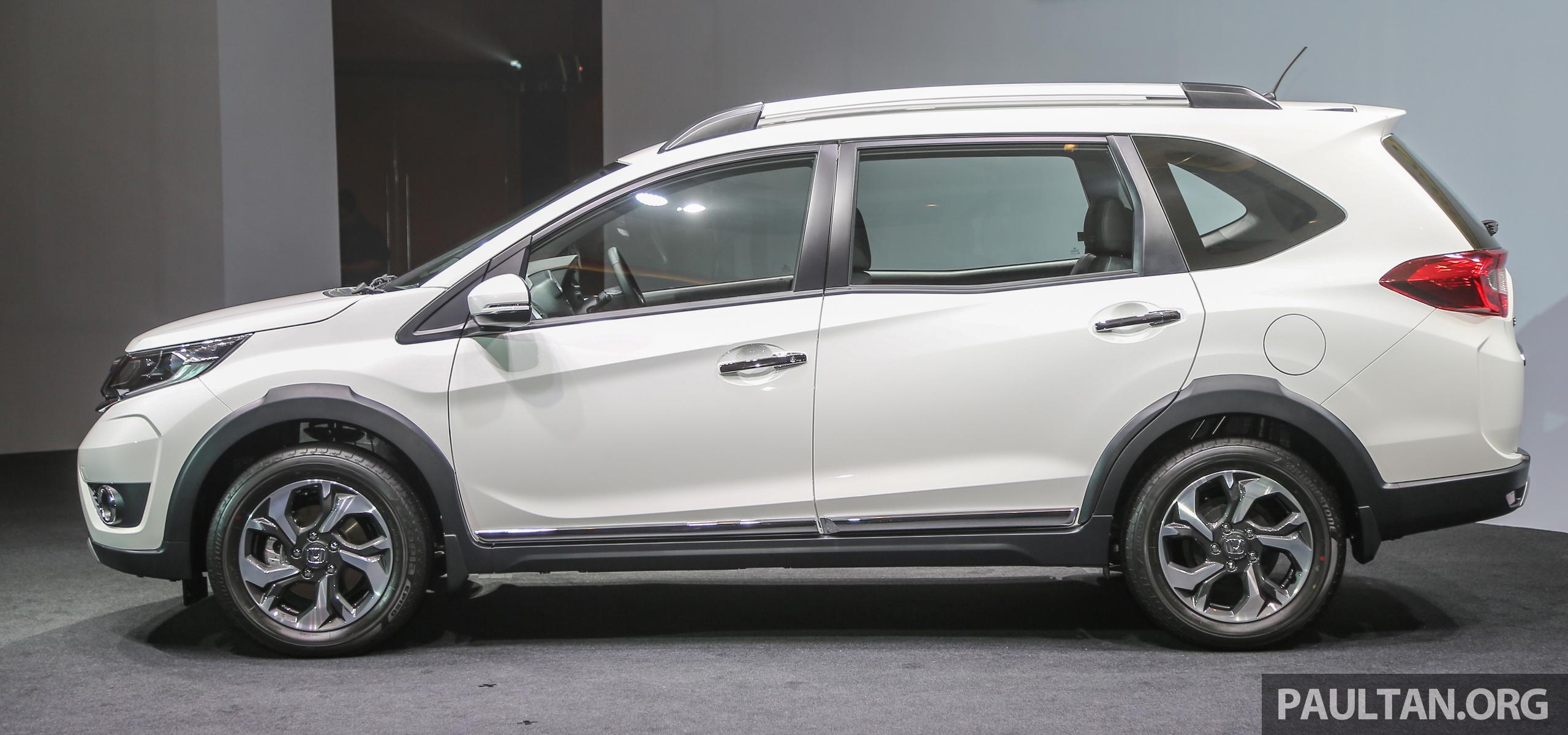 七人座跨界车 Honda Br V 本地上市,价格从rm85k起! Honda Br V V Ext 6