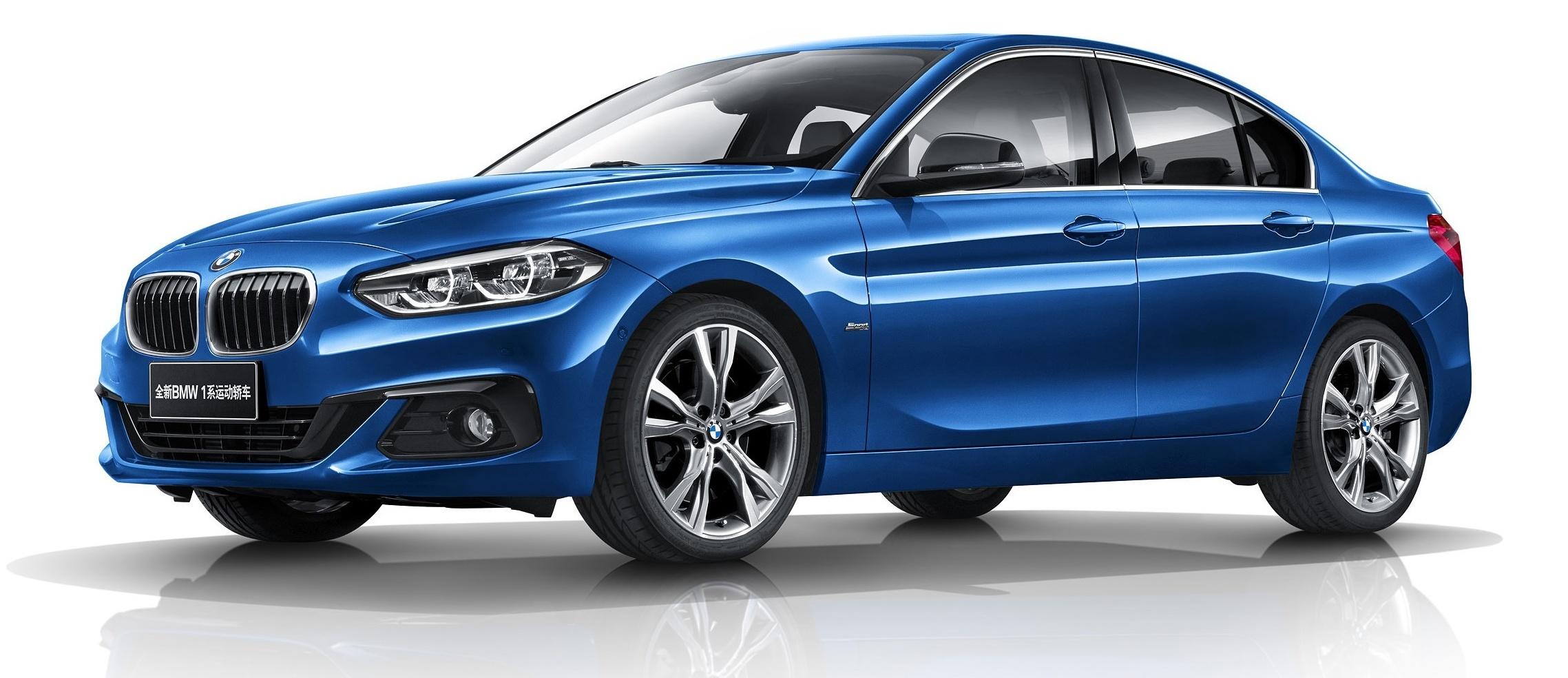 Series >> BMW 1 Series Sedan 中国上市,全车系使用前轮驱动。 BMW-1-Series-Sedan-06-e1488254931367 - Paul Tan 汽车资讯网