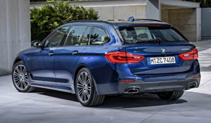 BMW 5 Series Touring 旅行车,下个月日内瓦车展发布。 BMW-G31-5-Series ...