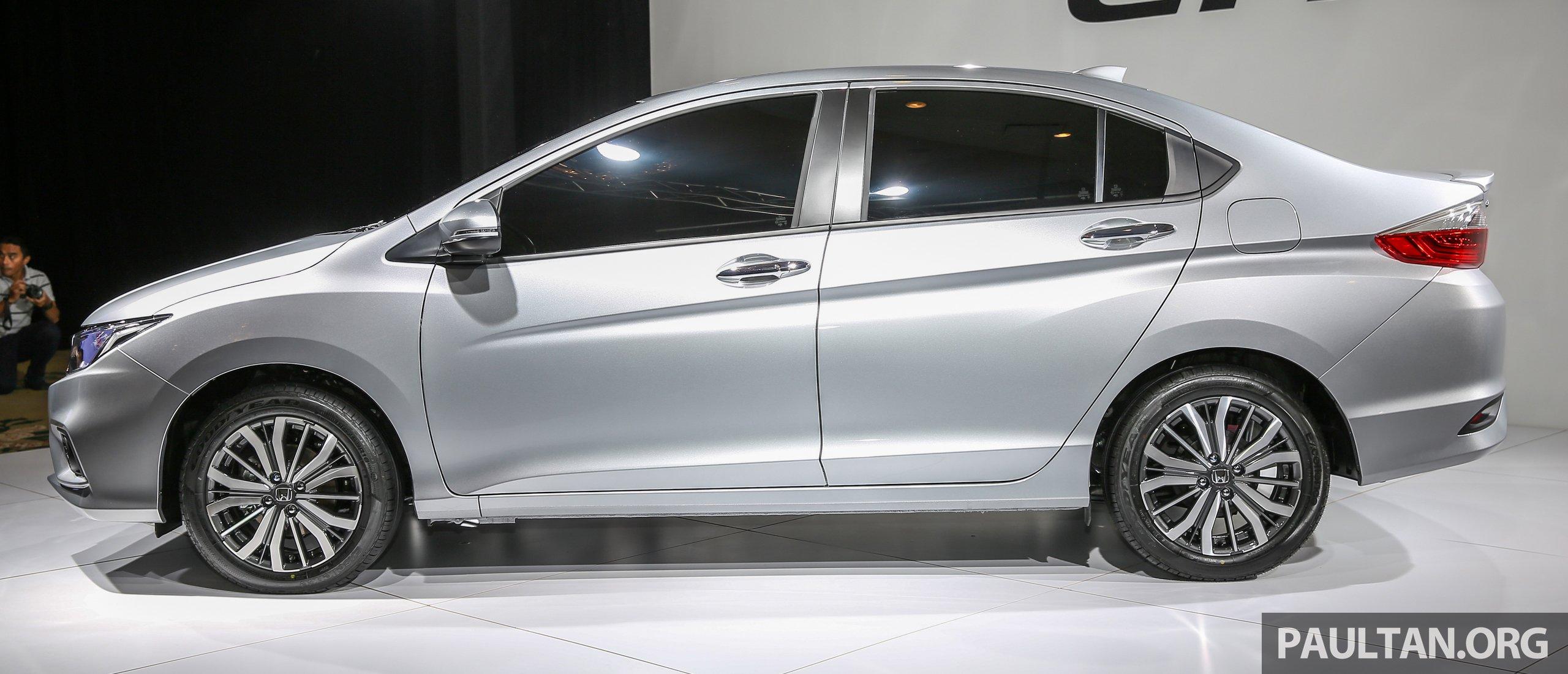 Ű�改款 Honda City Ɯ�地实车预览,内外配备全面升级。 Honda City Fl 7 Paul