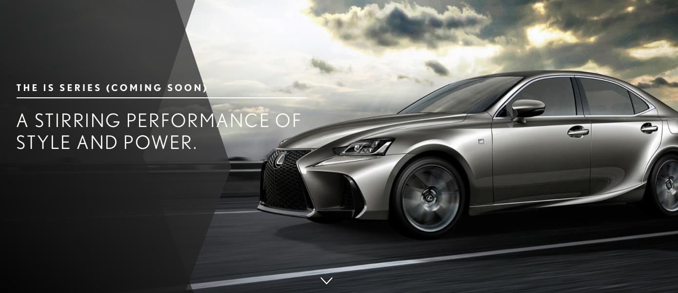 ... 本地上市。 Lexus-IS-facelift-teaser-1 - Paul Tan 汽车资讯网