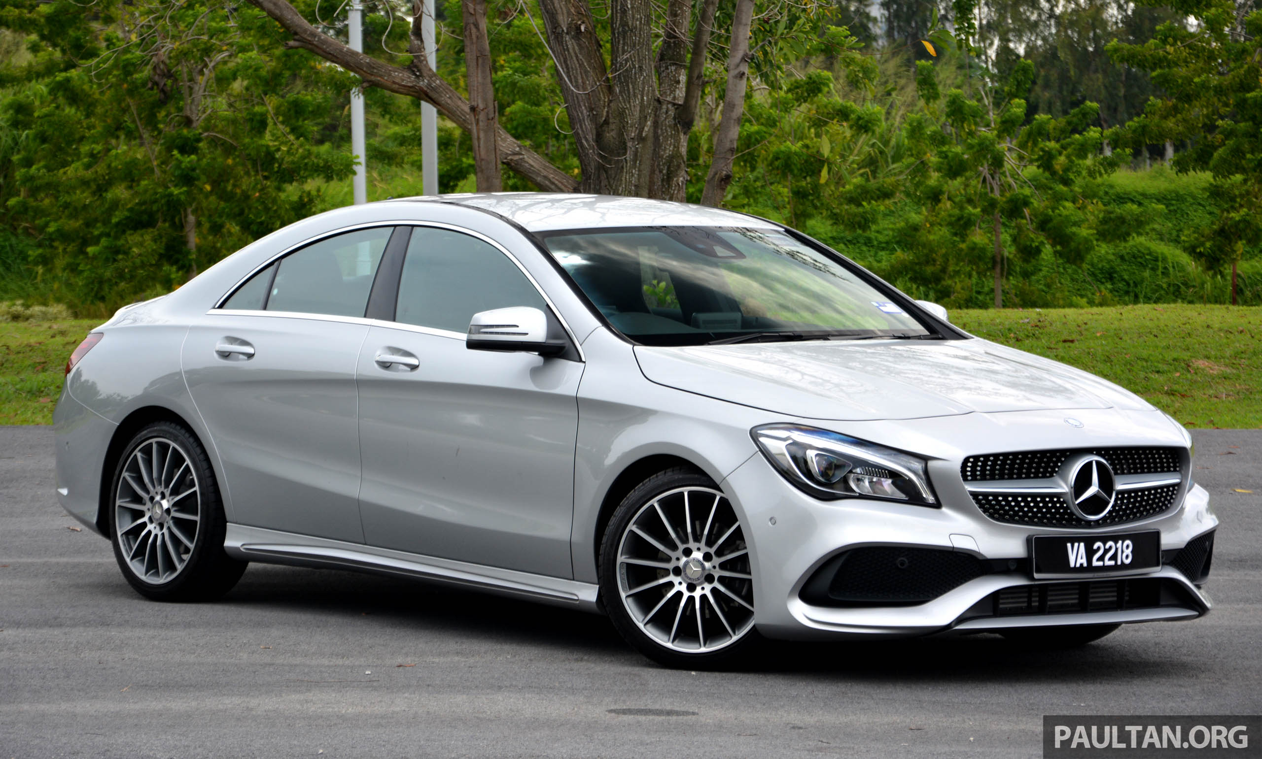 试驾:mercedes Benz Cla 200,酷帅外型,年轻最爱。 Mercedes Benz Cla 200