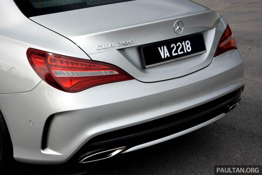 试驾:Mercedes-Benz CLA 200,酷帅外型,年轻最爱。 Image #19610
