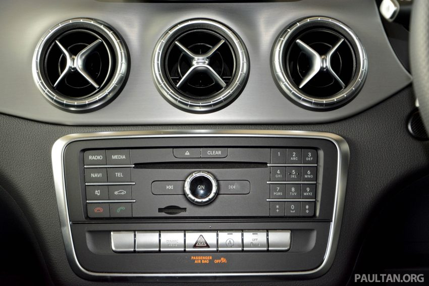 试驾:Mercedes-Benz CLA 200,酷帅外型,年轻最爱。 Image #19627