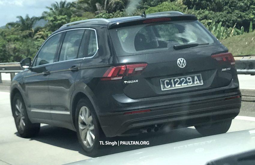 前最后准备?Volkswagen Tiguan 再被捕获测试照。 tiguan ... Volkswagen Tiguan