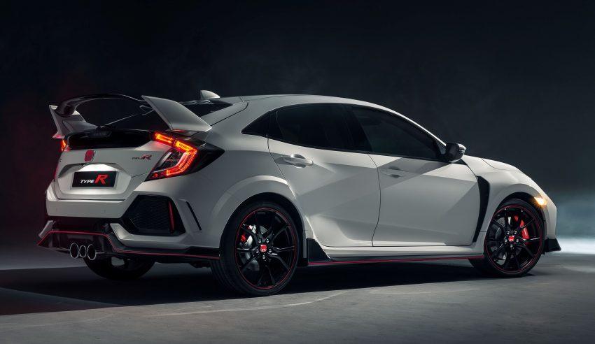 Honda 发布全新 Civic Type R,320匹马力,六速手排! Image #21607