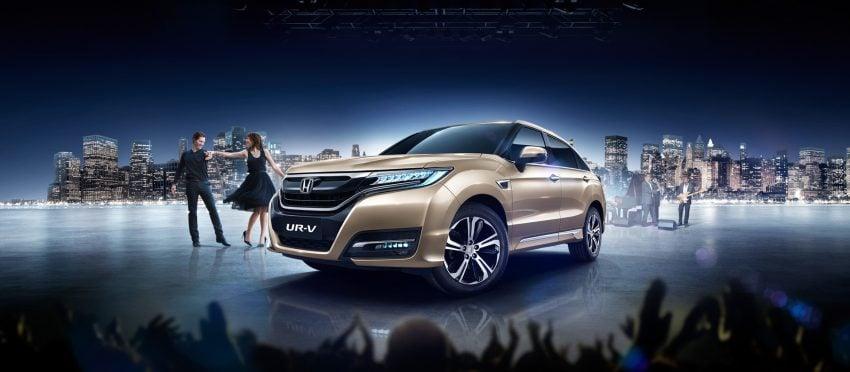 中国发布全新 Honda Ur V,定位比 Cr V 更高更大。 Honda Ur V 8 Paul Tan 汽车资讯网