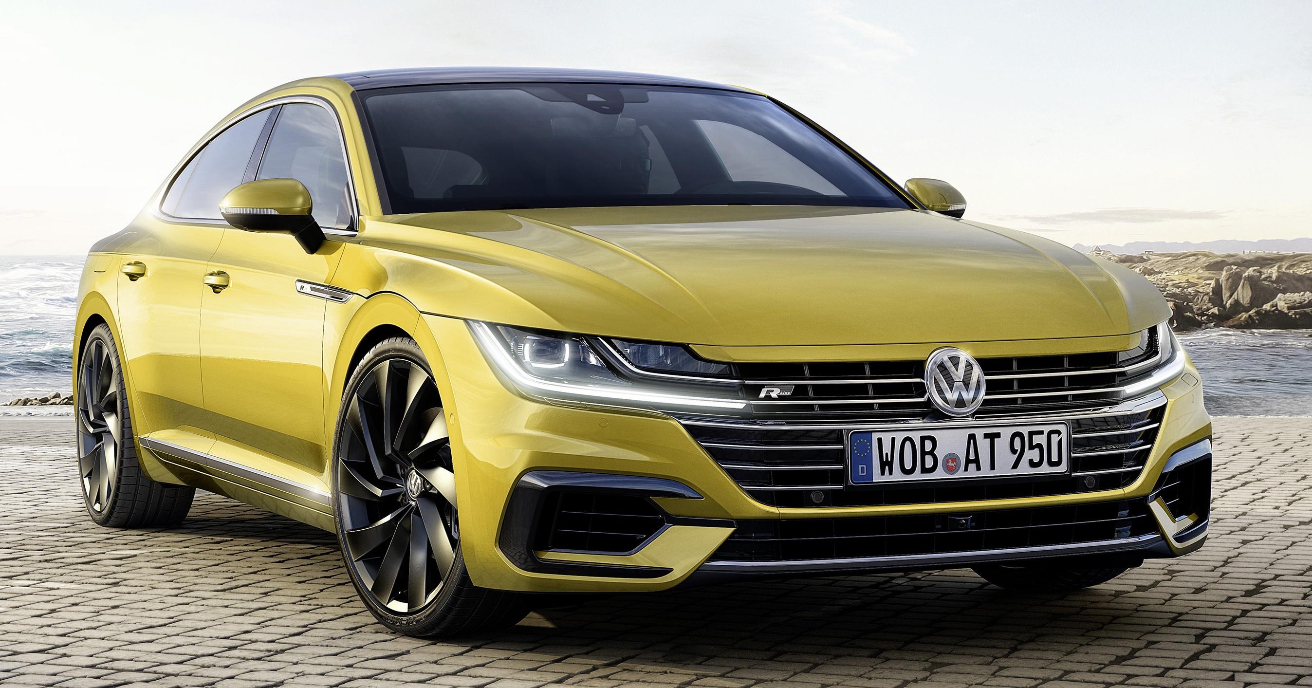 Volkswagen Arteon 日内瓦面世,CC 的后继车款。 Volkswagen ... Volkswagen Arteon