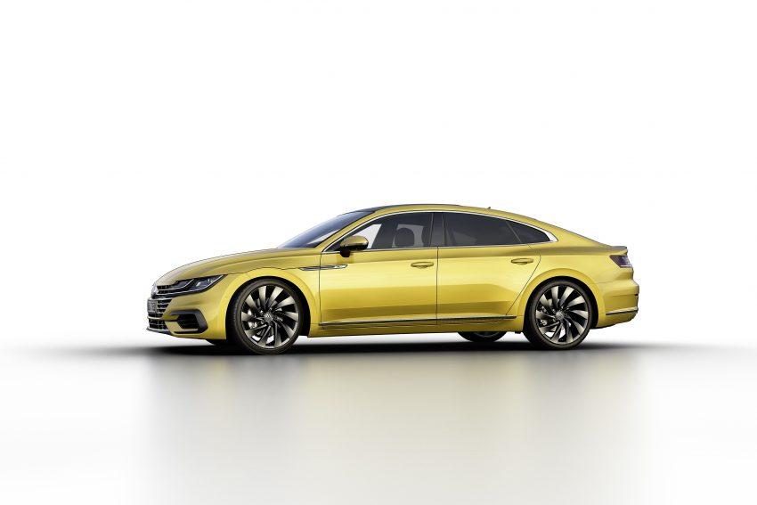 Volkswagen Arteon 日内瓦面世,CC 的后继车款。 Volkswagen ...