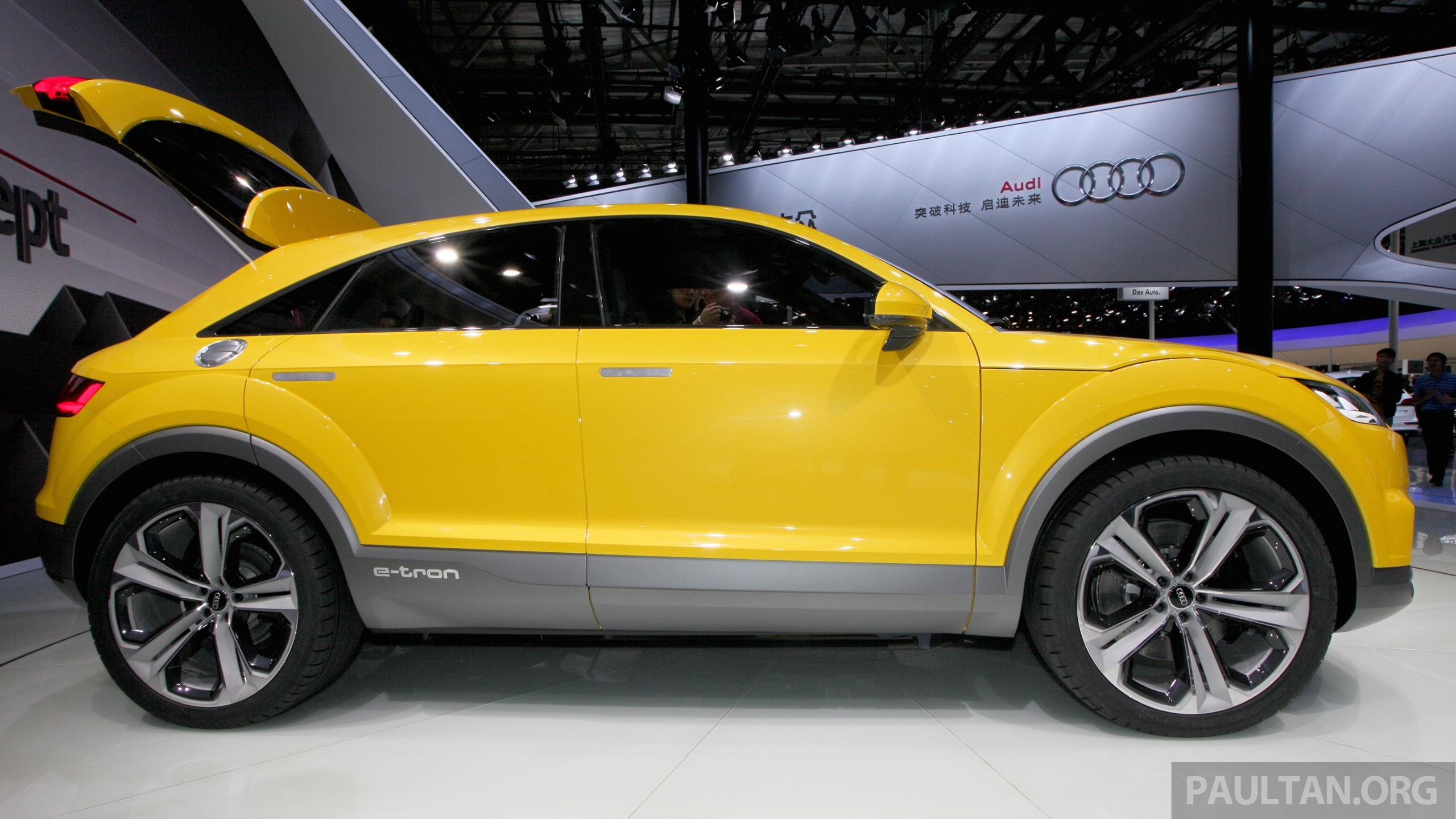 Audi 确认增加两款新suv,q4 与 Q8 两年内陆续面世。 Audi Tt Offroad Concept