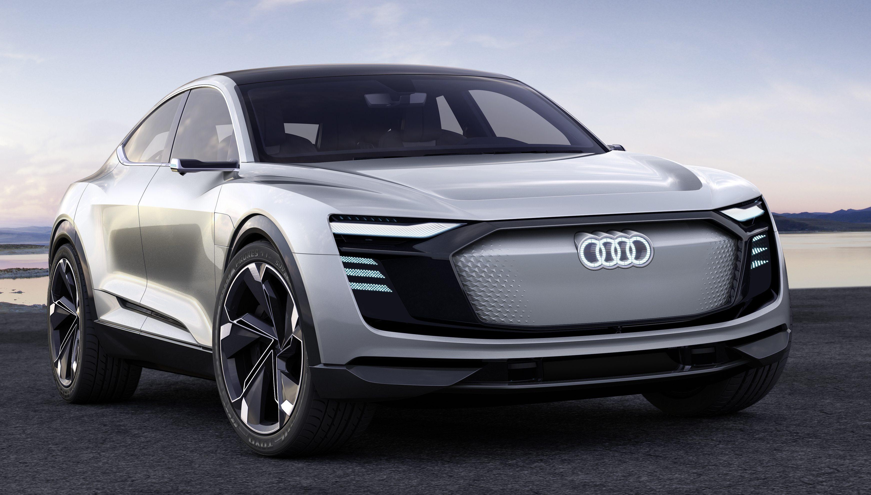 Audi E Tron Sportback 概念车面世,2019年开始量产! Audi E Tron
