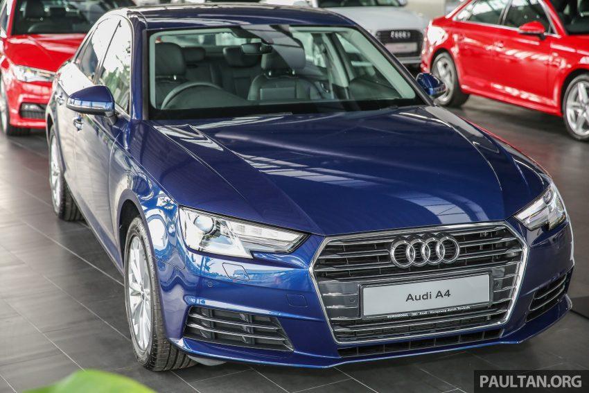 新车图集:全新 Audi A4 1.4 TFSI 与 2.0 TFSI Quattro。 Image #25251