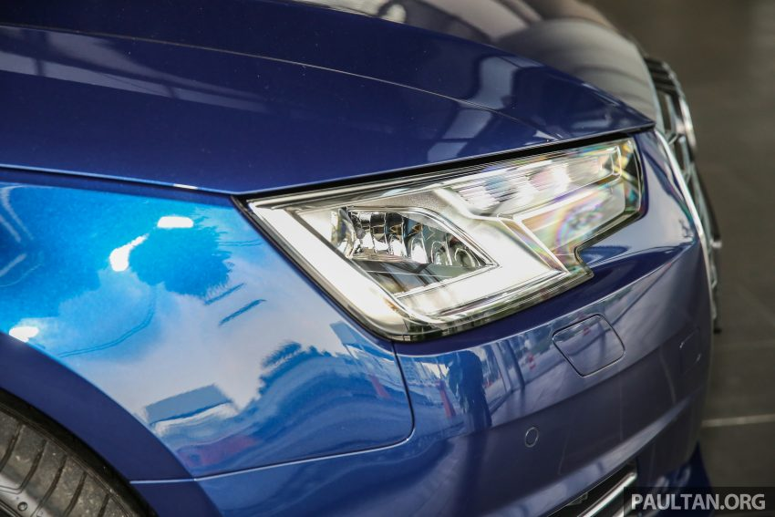 新车图集:全新 Audi A4 1.4 TFSI 与 2.0 TFSI Quattro。 Image #25260