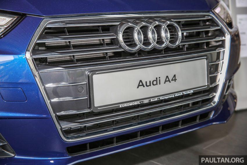新车图集:全新 Audi A4 1.4 TFSI 与 2.0 TFSI Quattro。 Image #25262