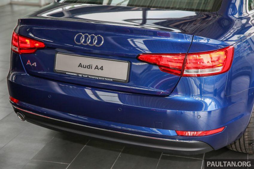 新车图集:全新 Audi A4 1.4 TFSI 与 2.0 TFSI Quattro。 Image #25268