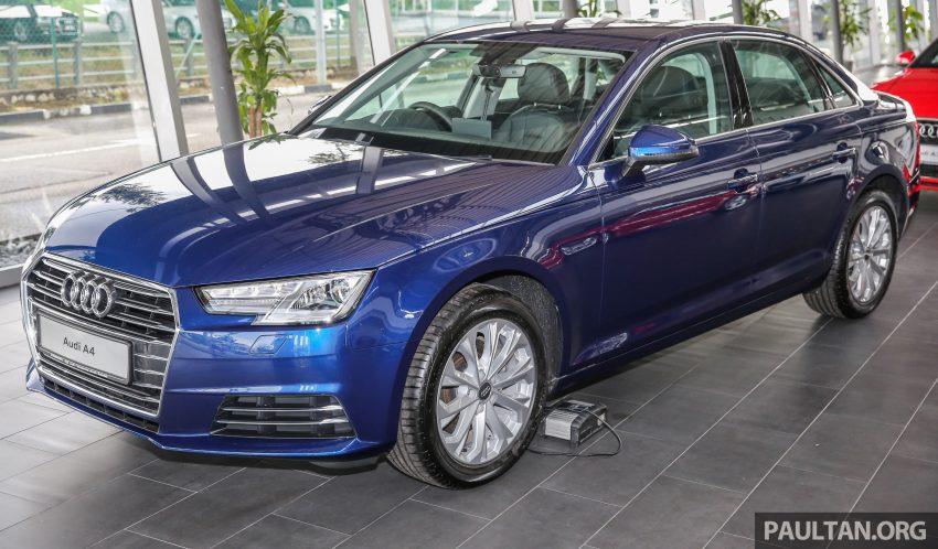 新车图集:全新 Audi A4 1.4 TFSI 与 2.0 TFSI Quattro。 Image #25252
