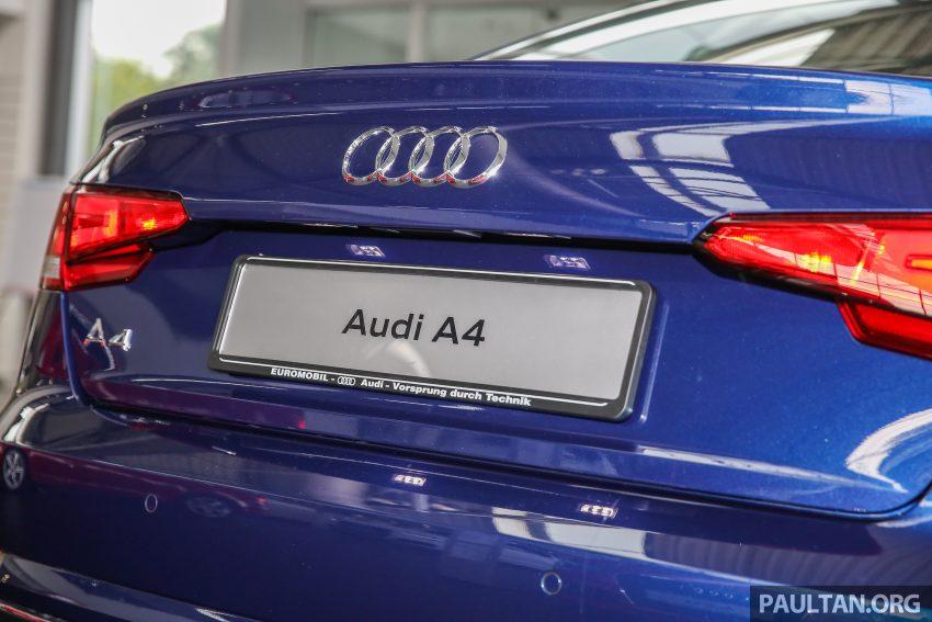 新车图集:全新 Audi A4 1.4 TFSI 与 2.0 TFSI Quattro。 Image #25271