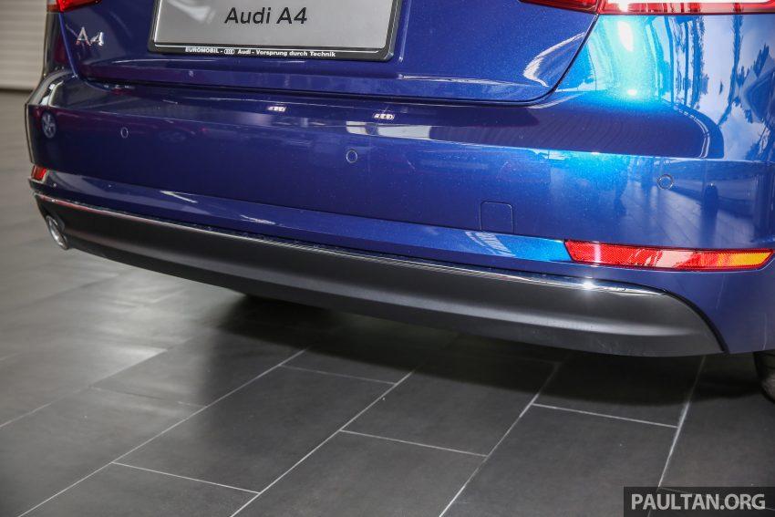 新车图集:全新 Audi A4 1.4 TFSI 与 2.0 TFSI Quattro。 Image #25272