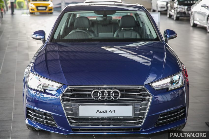 新车图集:全新 Audi A4 1.4 TFSI 与 2.0 TFSI Quattro。 Image #25255