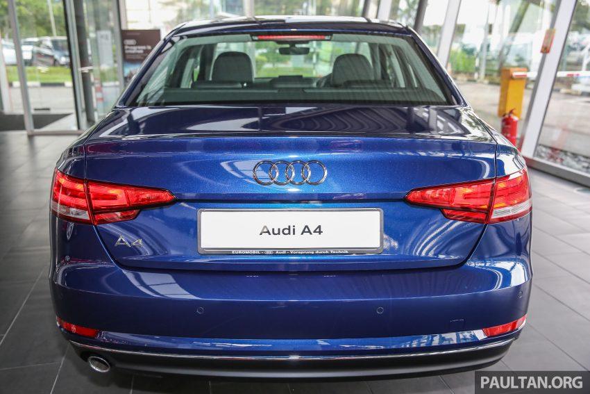 新车图集:全新 Audi A4 1.4 TFSI 与 2.0 TFSI Quattro。 Image #25256