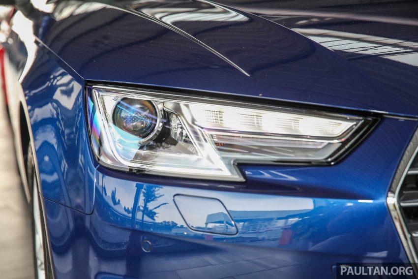 新车图集:全新 Audi A4 1.4 TFSI 与 2.0 TFSI Quattro。 Image #25259