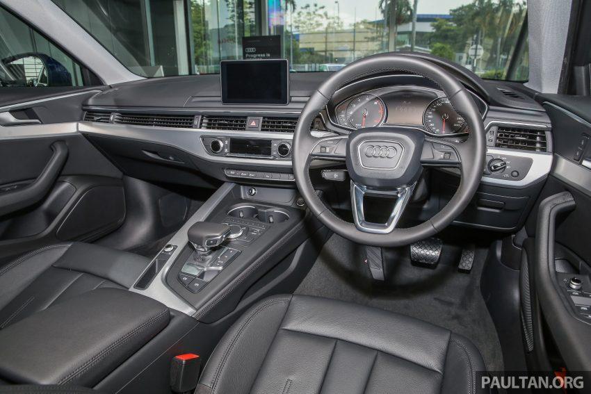新车图集:全新 Audi A4 1.4 TFSI 与 2.0 TFSI Quattro。 Image #25293