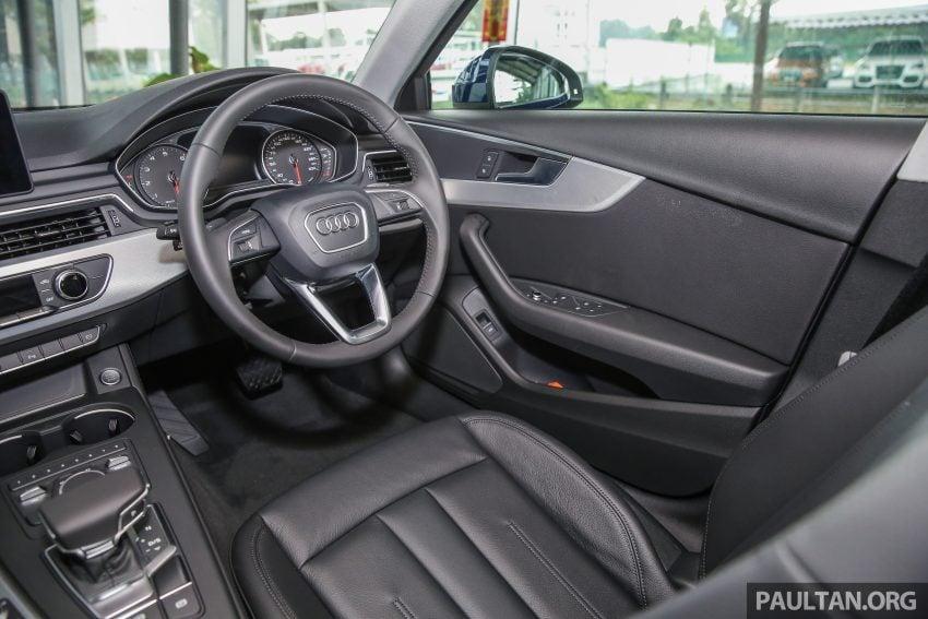 新车图集:全新 Audi A4 1.4 TFSI 与 2.0 TFSI Quattro。 Image #25294