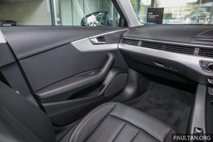新车图集:全新 Audi A4 1.4 TFSI 与 2.0 TFSI Quattro。 Image #25295