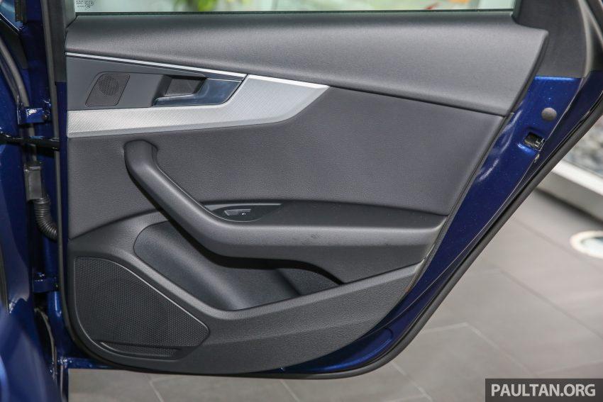 新车图集:全新 Audi A4 1.4 TFSI 与 2.0 TFSI Quattro。 Image #25298