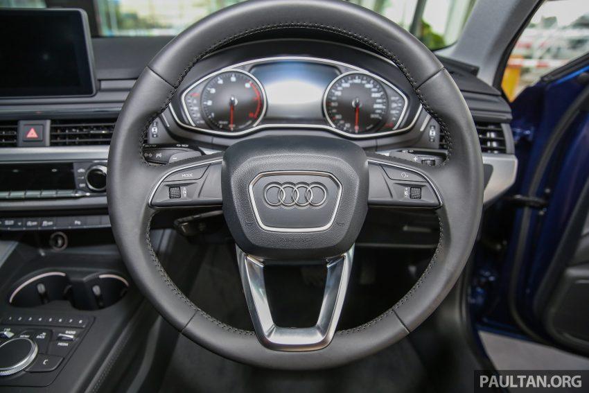 新车图集:全新 Audi A4 1.4 TFSI 与 2.0 TFSI Quattro。 Image #25277