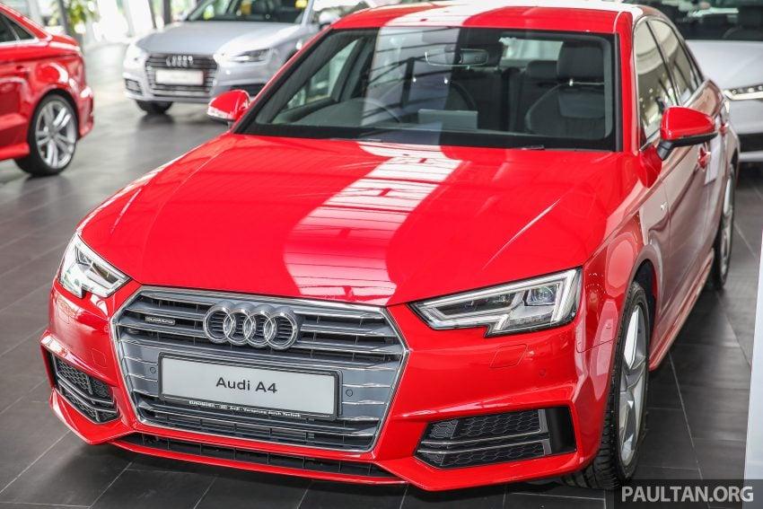 新车图集:全新 Audi A4 1.4 TFSI 与 2.0 TFSI Quattro。 Image #25306