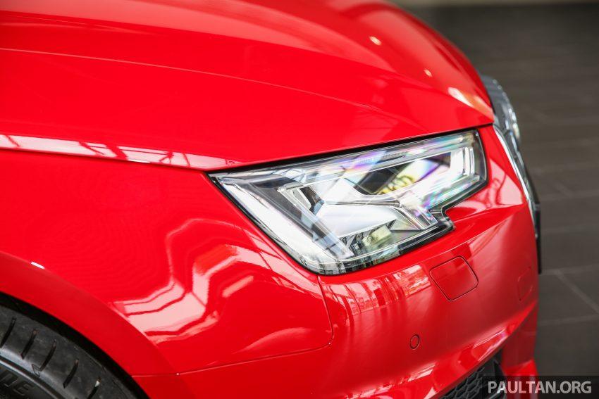 新车图集:全新 Audi A4 1.4 TFSI 与 2.0 TFSI Quattro。 Image #25315