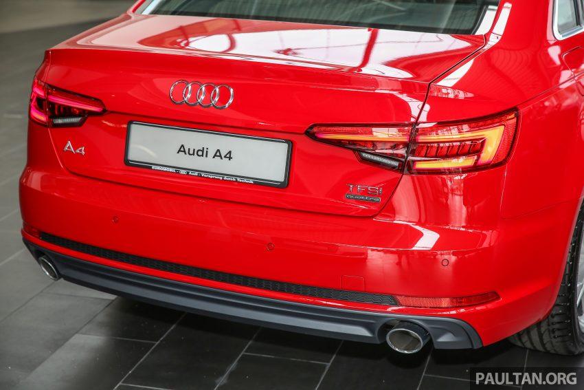 新车图集:全新 Audi A4 1.4 TFSI 与 2.0 TFSI Quattro。 Image #25324