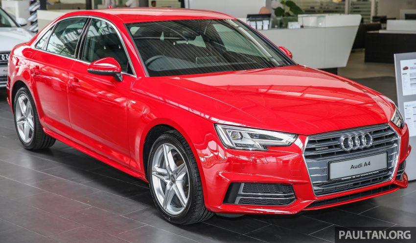 新车图集:全新 Audi A4 1.4 TFSI 与 2.0 TFSI Quattro。 Image #25307