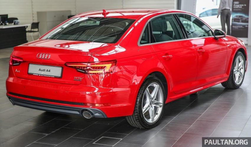 新车图集:全新 Audi A4 1.4 TFSI 与 2.0 TFSI Quattro。 Image #25309